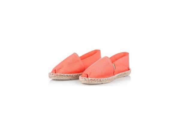 Damen Espadrilles Classic Coral