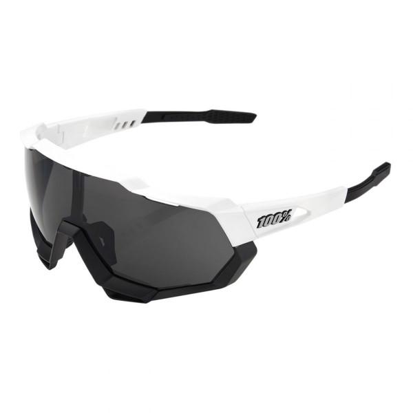 Sportbrille Speedtrap Smoke Lens Matte White/Black