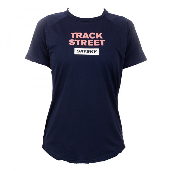 Damen Laufshirt Track Street Light Tee