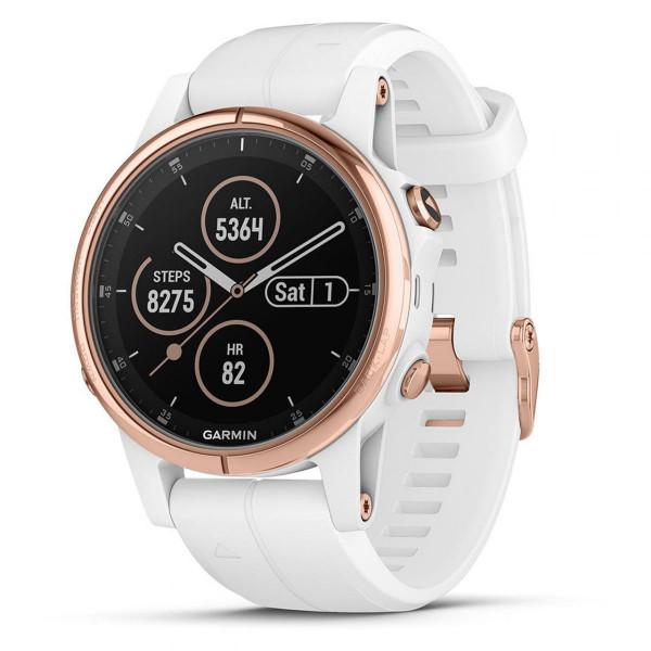 GPS-Multisportuhr fenix 5S Plus Sapphire Rose-Gold -