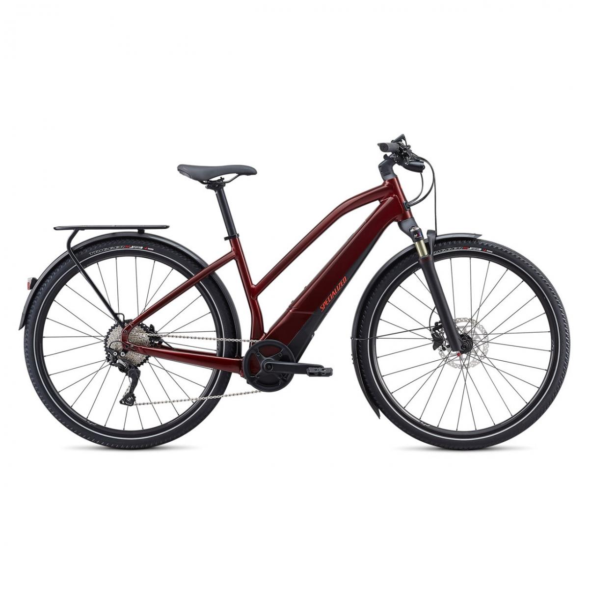 Damen E Bike City Turbo Vado 4.0 Rot