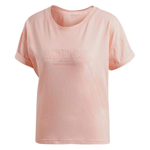 Damen Sportshirt Essentials All Caps Loose Tee