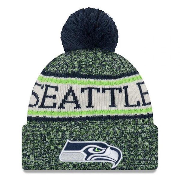 Mütze Seattle Seahawks 2018 NFL Cold Weather Knit