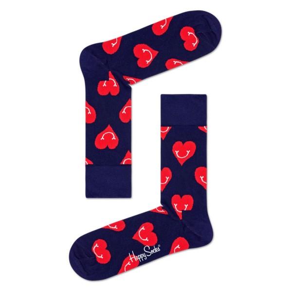 Socken Smiley Heart