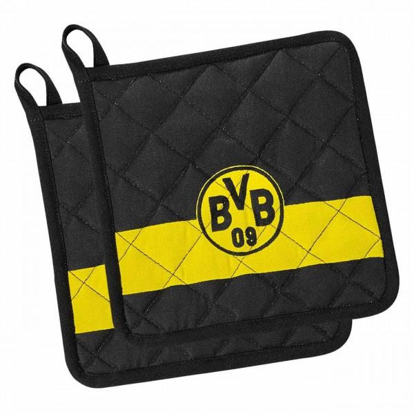 Topflappen 2er Set BVB 09