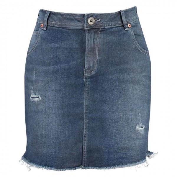 Damen Jeansrock Used