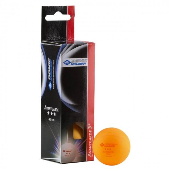 Tischtennisbälle Avantgarde 3-Stern 3er Pack