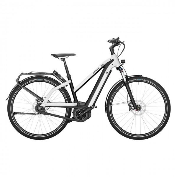 E-Bike City Multicharger Mixte GT Vario weiß