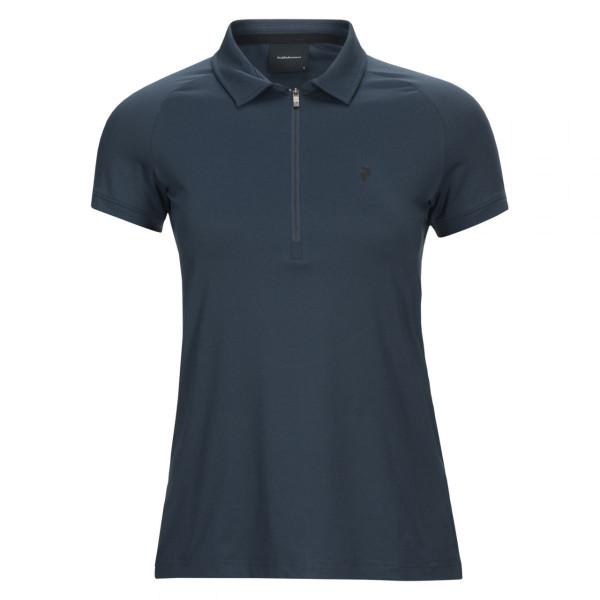 Damen T-Shirt Zip Short