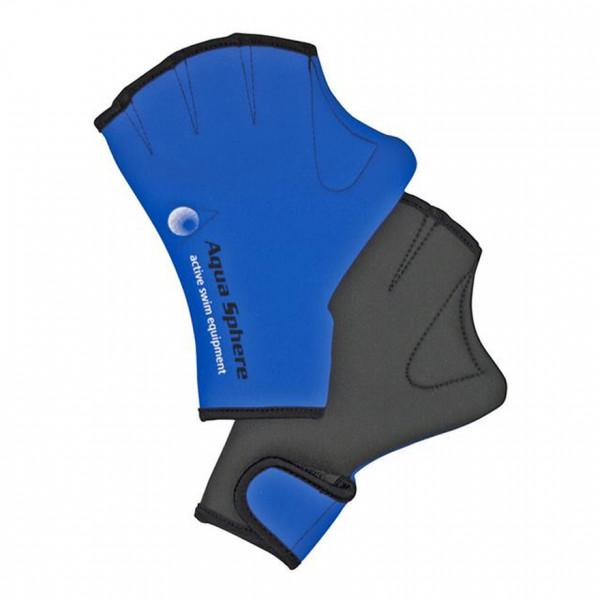 Schwimmhandschuhe Aqua Glove Blau