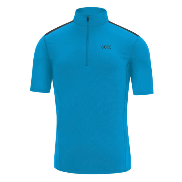 Herren Laufshirt R5 Zip Shirt