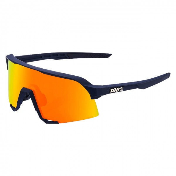 Sportbrille S3 HiPER® Blue Multilayer Mirror Lens Soft Tact Flume