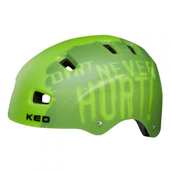 Kinder Fahrradhelm 5FORTY Dirt Green
