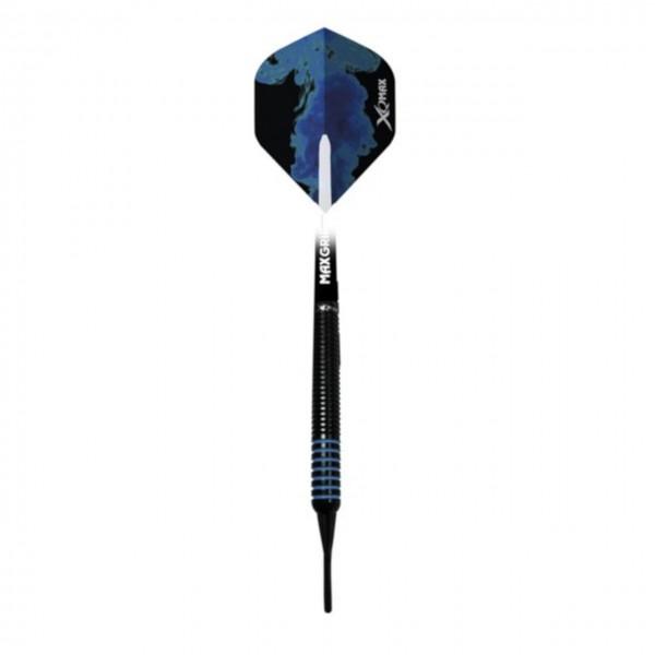 Dartpfeile Blue Shadow Soft 3er Set
