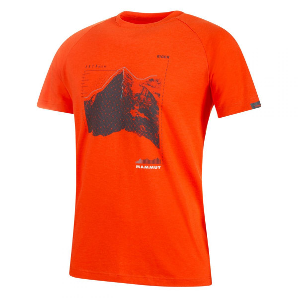 Herren T-Shirt Mountain