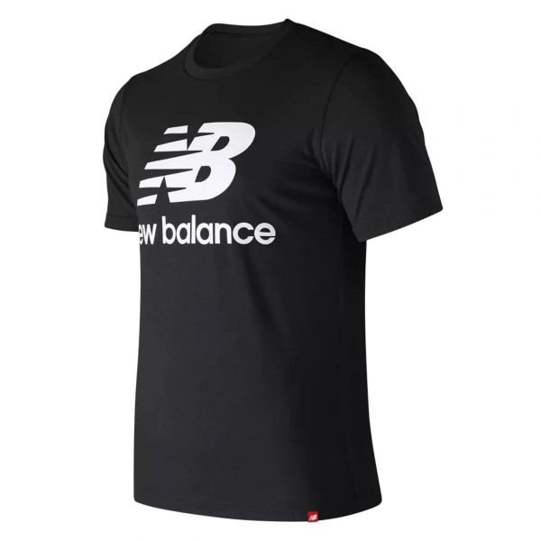 Herren T-Shirt Essentials Stacked Logo Tee