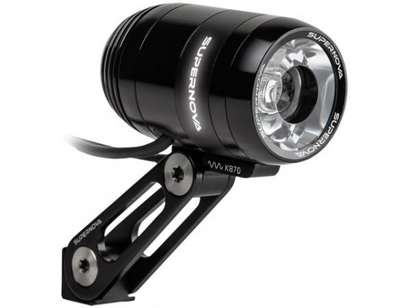 Frontscheinwerfer E3 PRO 2 Schwarz