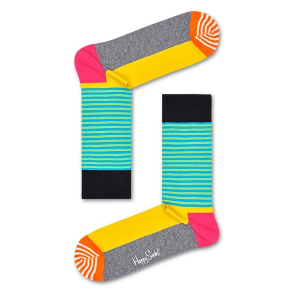 Socken Half Stripe