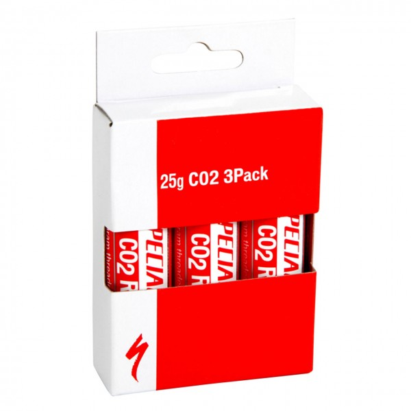 Fahrrad CO2 Cannister 25 G 3Pack