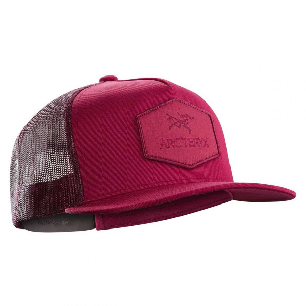 Kappe Hexagonal Patch Truckers Hat